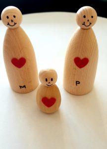 3. Zij voelen zich gelukkig en krijgen een kind.